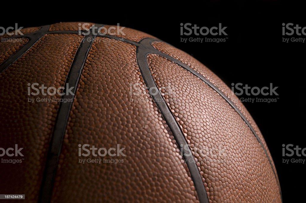 Closeup Basketball stock photo