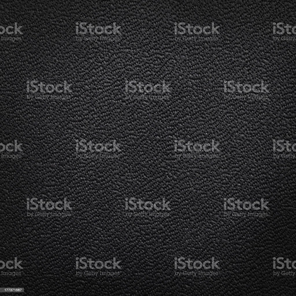 Close-up Black Leather Texture stock photo