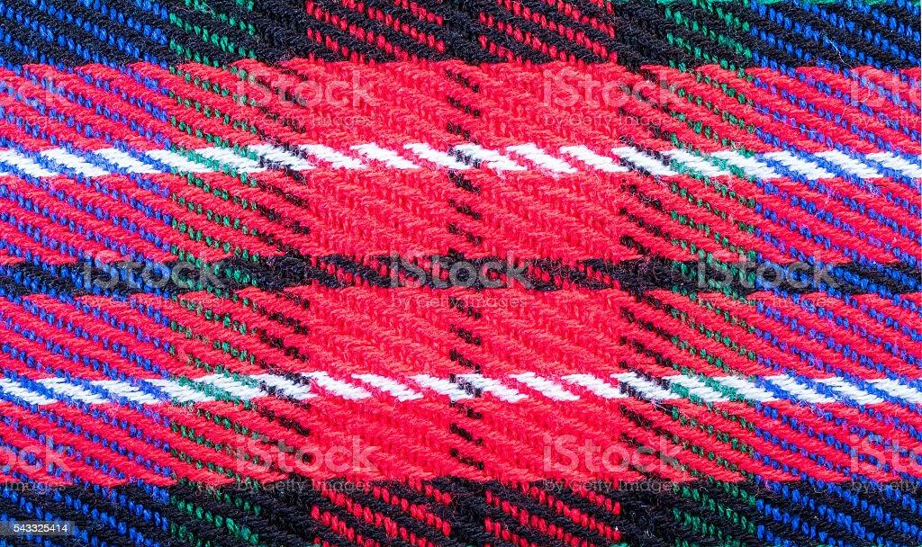 Closeup blanket fabric texture background stock photo