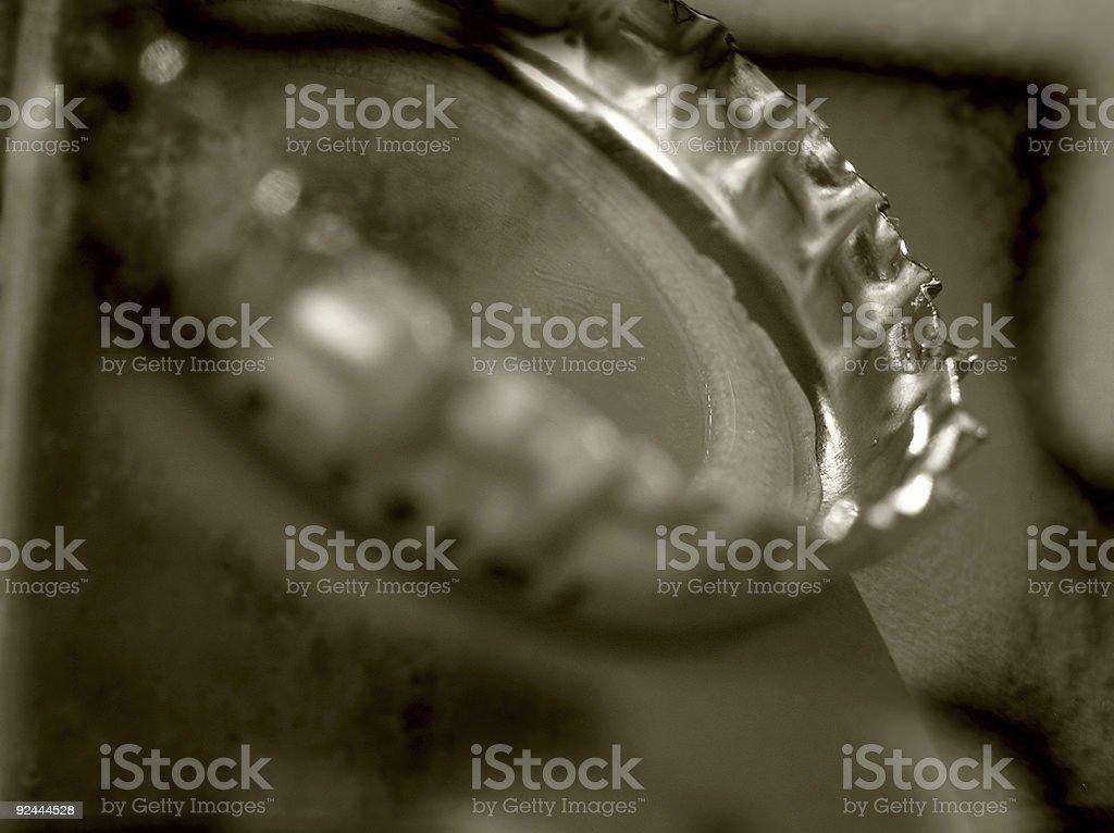 close-up bottle cap stock photo