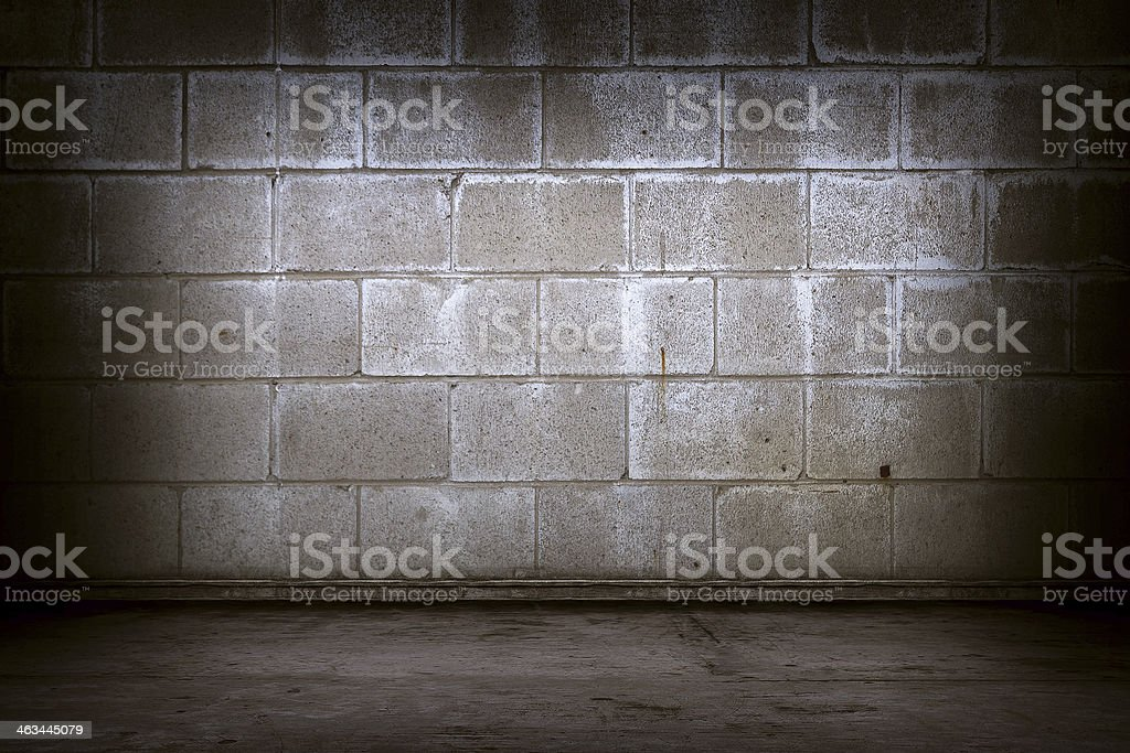 Closeup brick interior stock photo