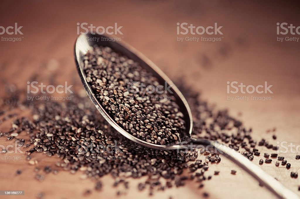 Close-up Chia royalty-free stock photo
