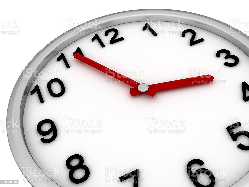 Close-up Clock royalty-free stock photo