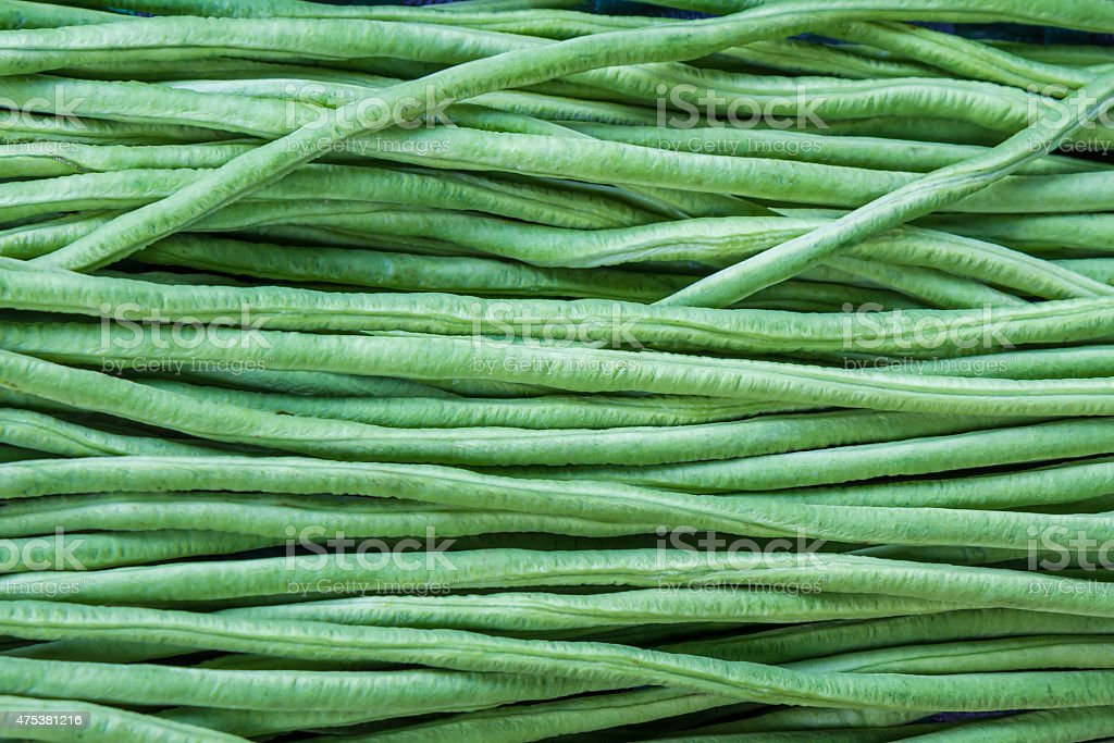 Closeup cowpea for background stock photo