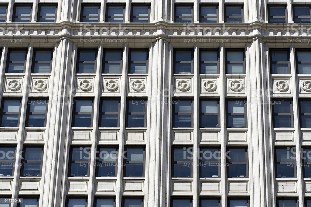 Closeup details of beautiful building royalty-free stock photo