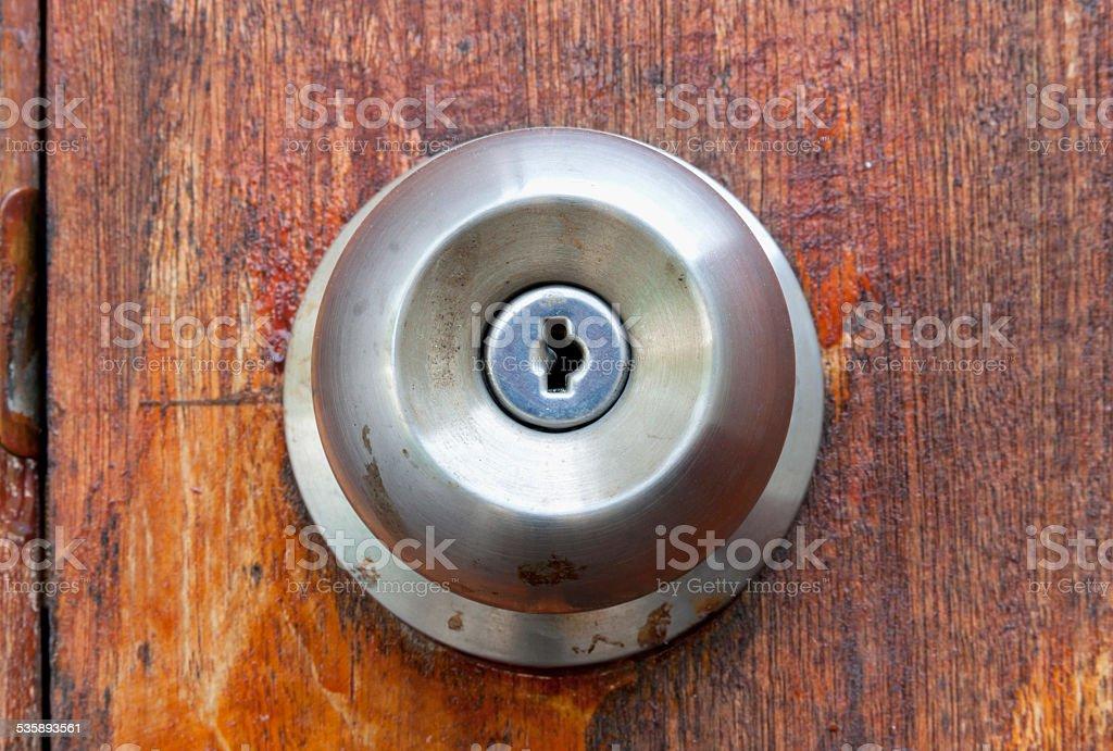close-up doorknob royalty-free stock photo