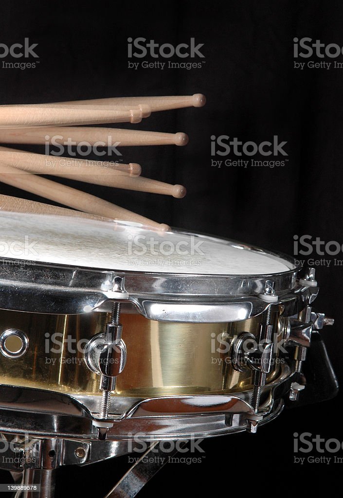 Close-Up Drum Roll stock photo
