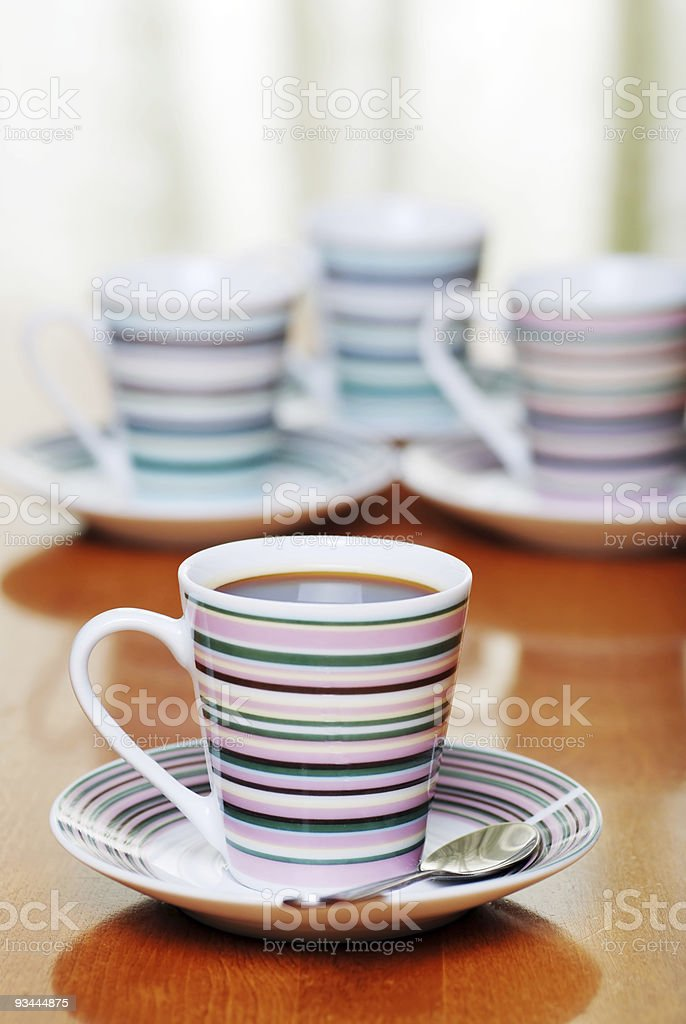 closeup espresso coffee royalty-free stock photo