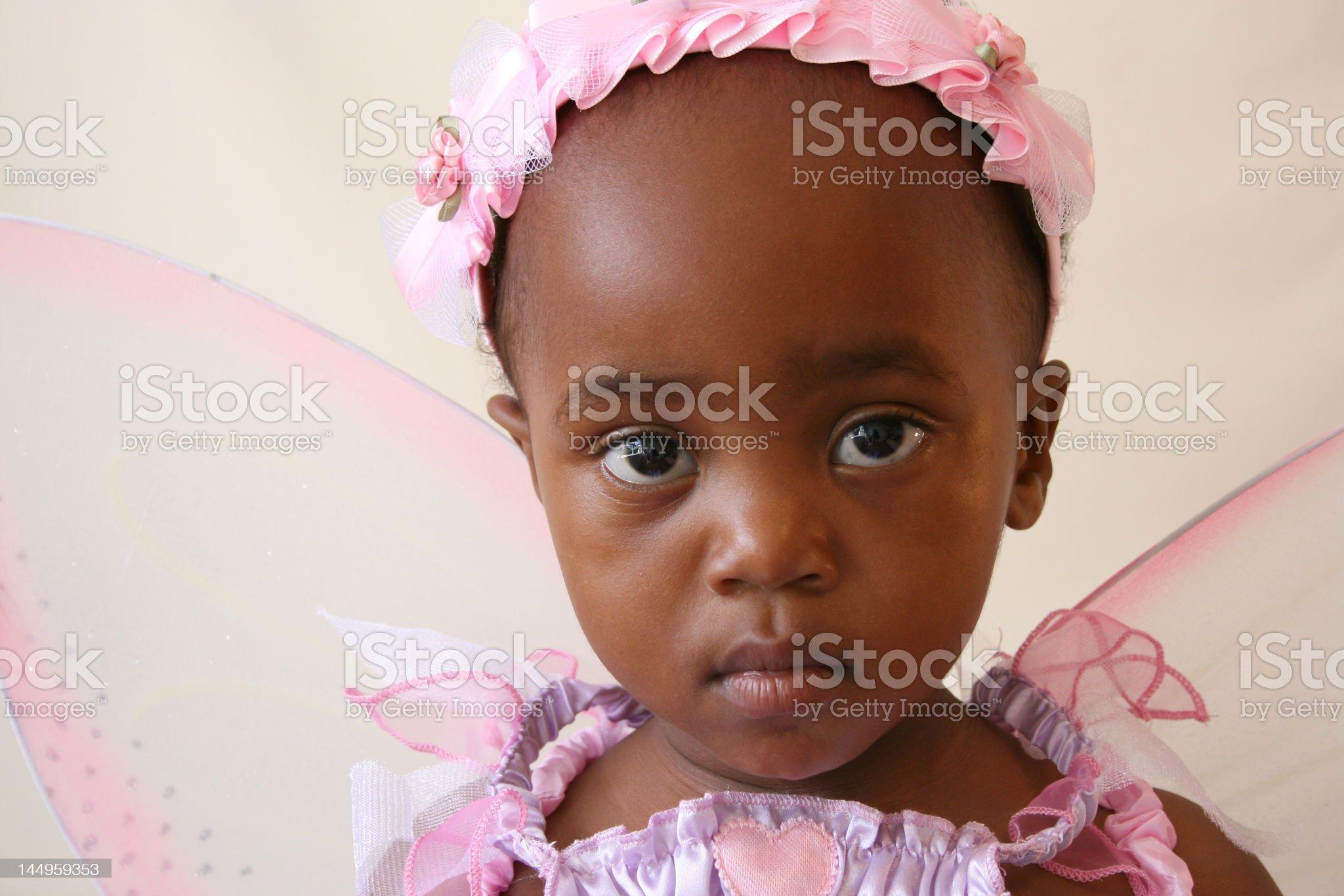 Close-up Fairy royalty-free stock photo
