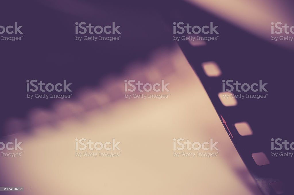Close-up Film of a roll 35 mm photographic film, stock photo