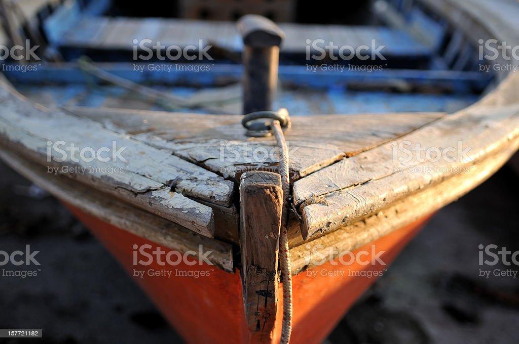 close-up fishing boat royalty-free stock photo