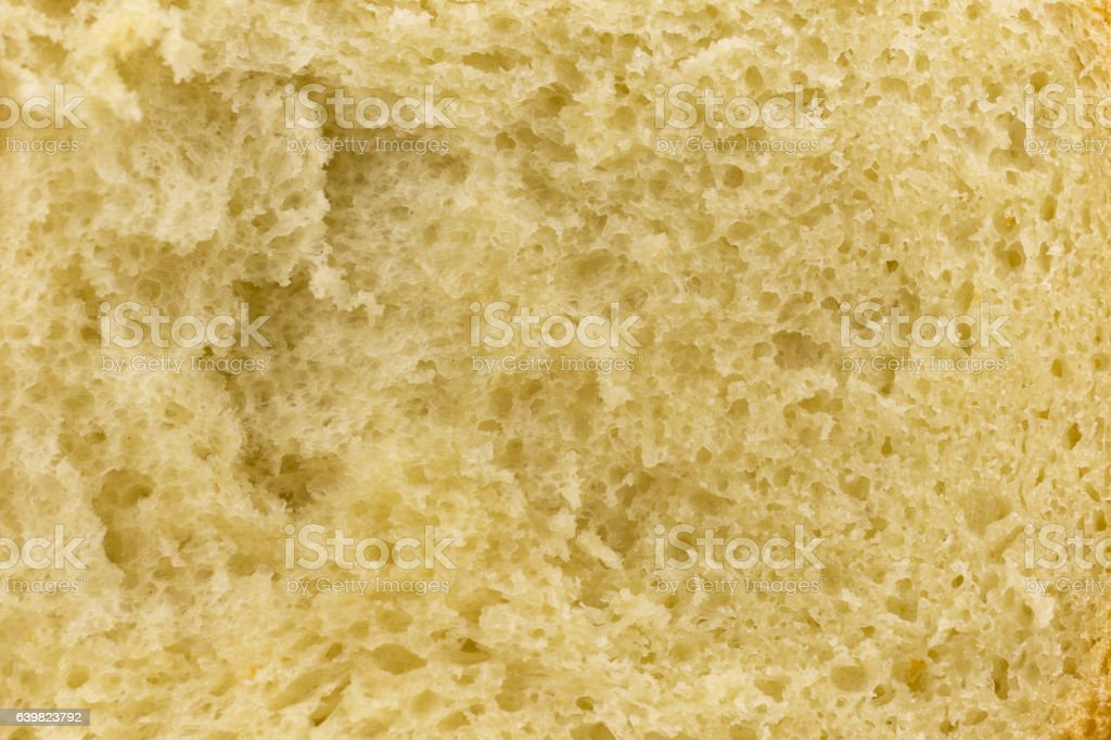Closeup fresh sliced white bread.  as background. stock photo