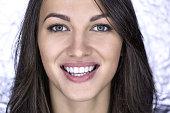 Close-up girl's portrait
