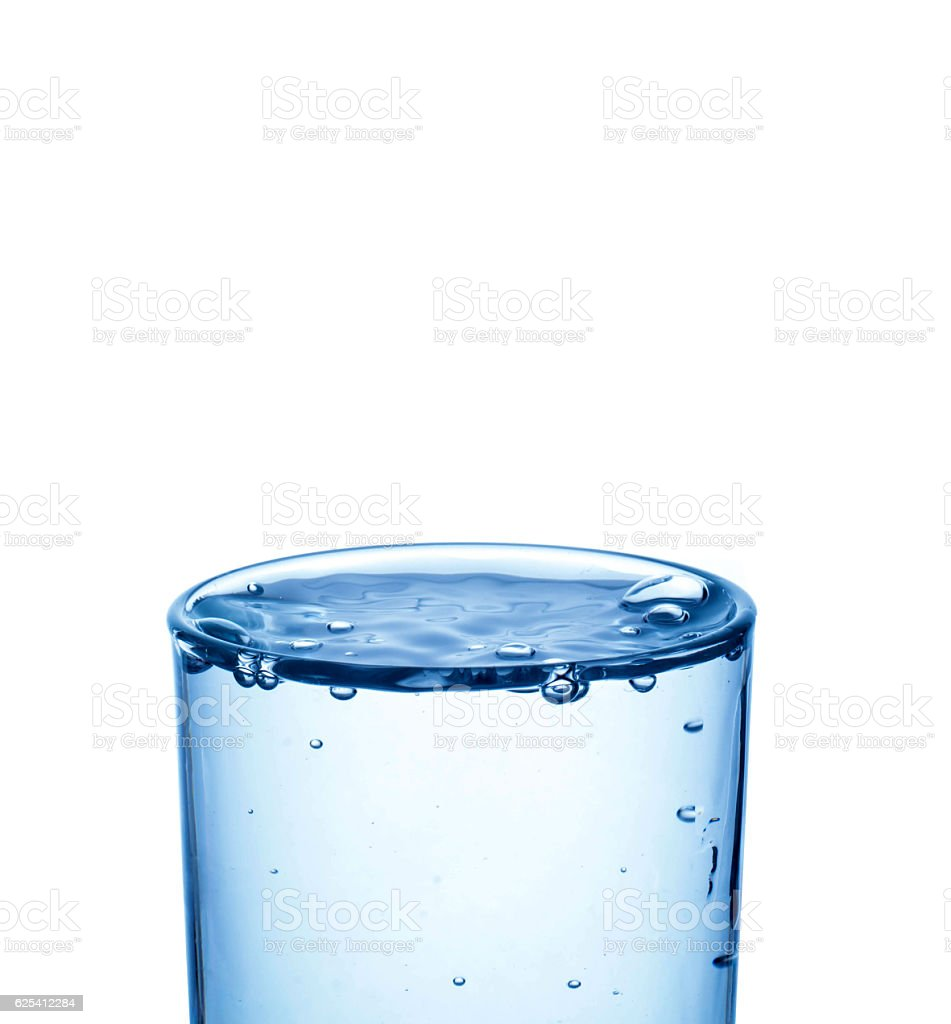 close-up Glass of Water stock photo