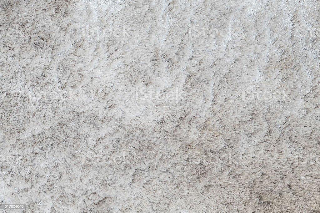 Closeup gray fabric carpet texture background stock photo