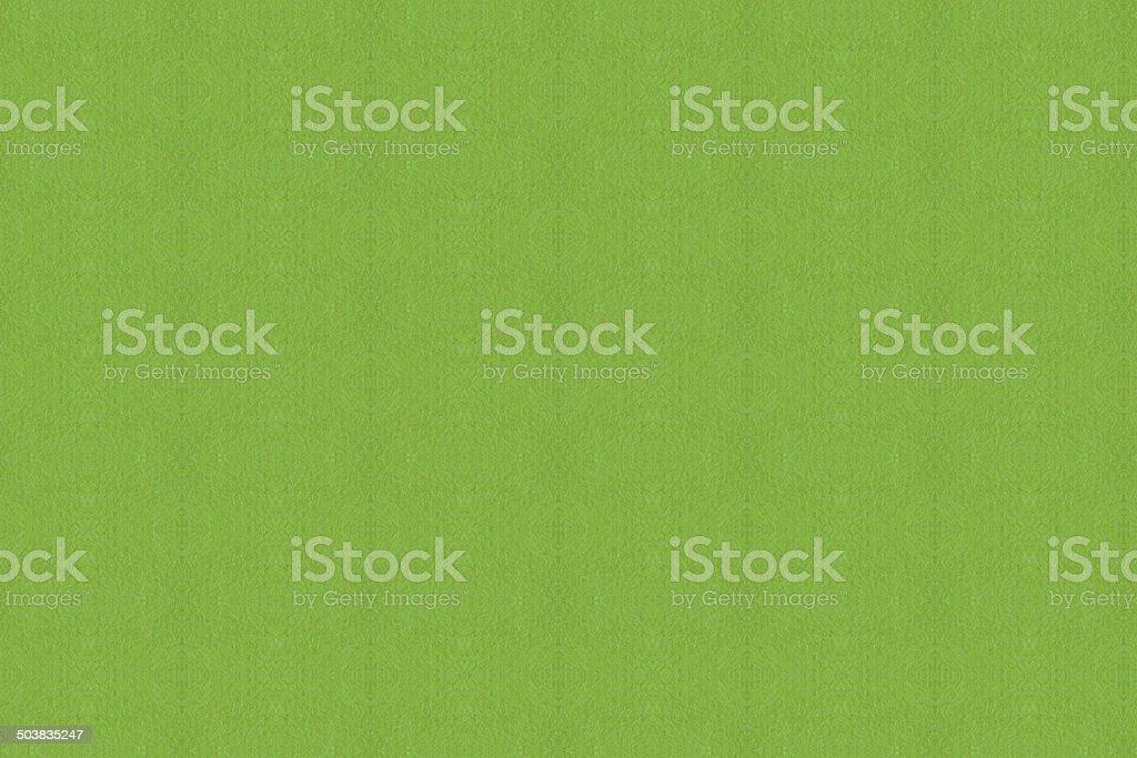 Closeup green paper stock photo