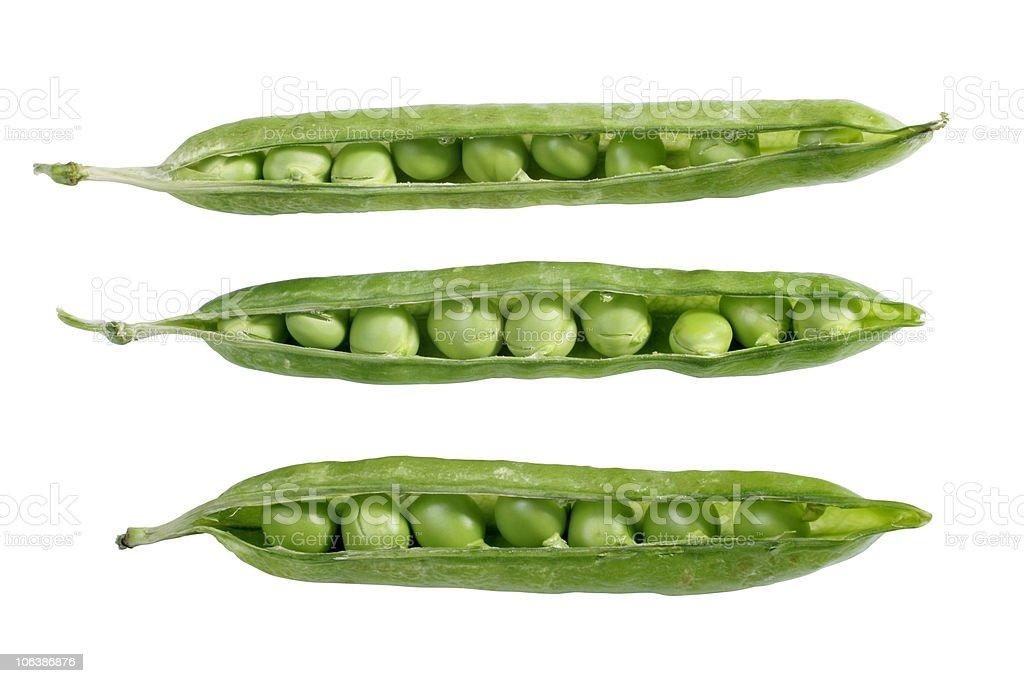 close-up green peas royalty-free stock photo