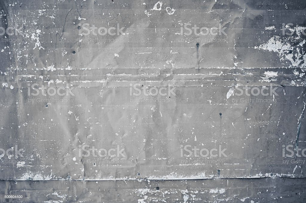 Close-up grunge texture gray metal plates background stock photo