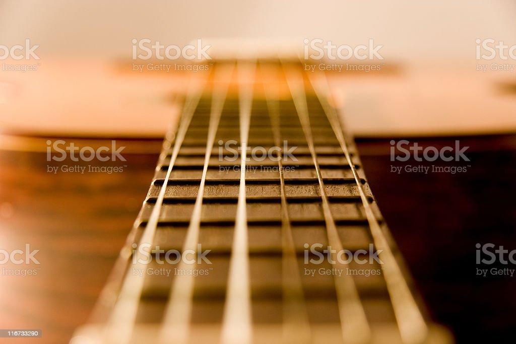 Close-up Guitar stock photo