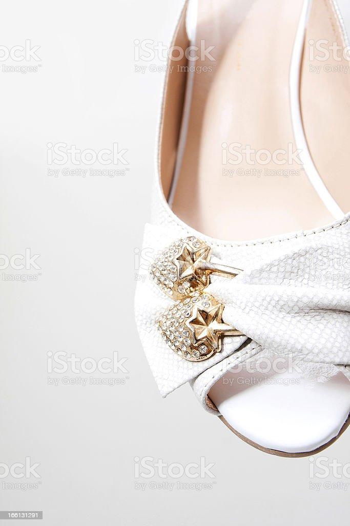 Close-up high heels royalty-free stock photo