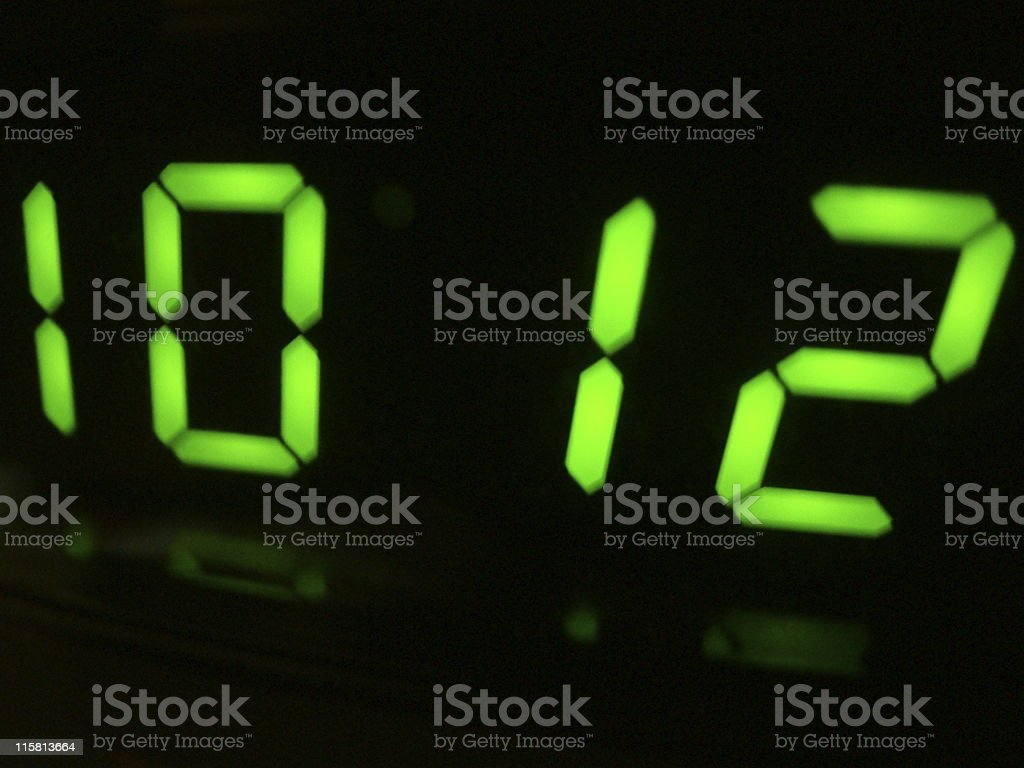 Close-up LCD Screen stock photo