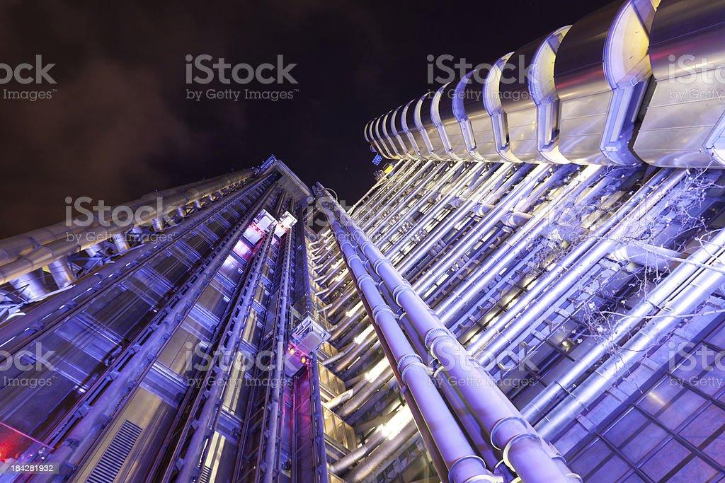 Closeup Lloyds of London stock photo