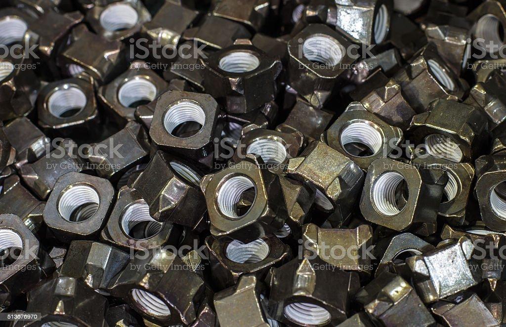 Close-up nut stock photo