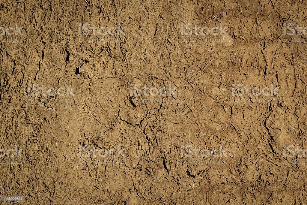A close-up of a brown soil texture stock photo