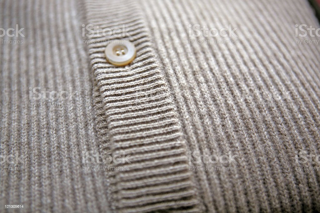 close-up of a cardigan royalty-free stock photo