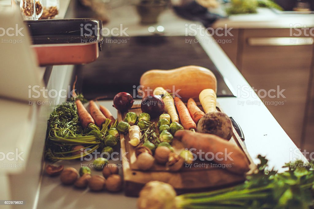 Close-up of a colorful vegetables stock photo