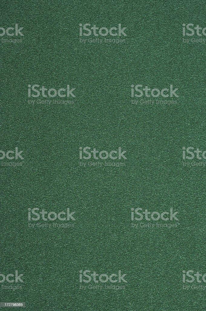 Closeup of a dark green felt isolated stock photo