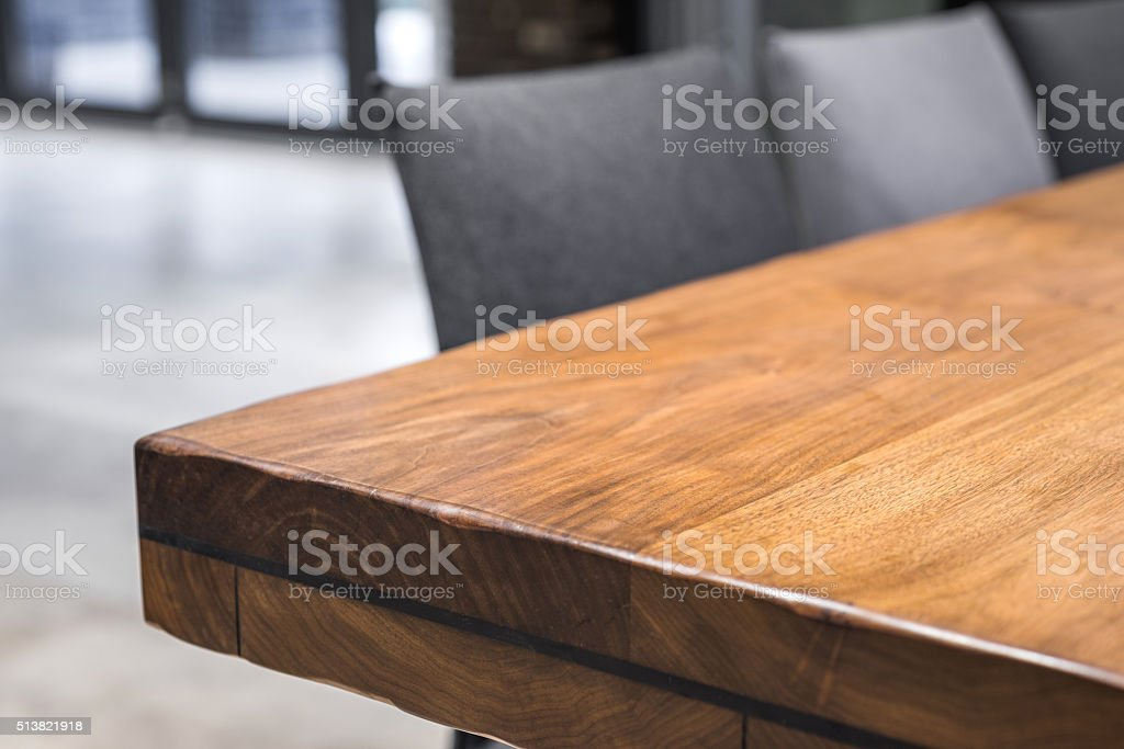 Close-up of a luxurious table corner stock photo