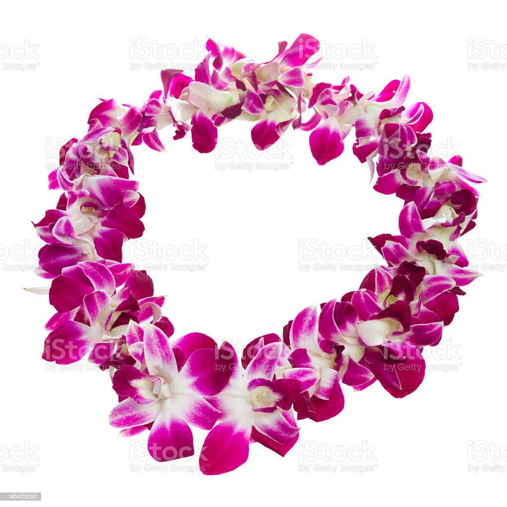 Lei stock photo