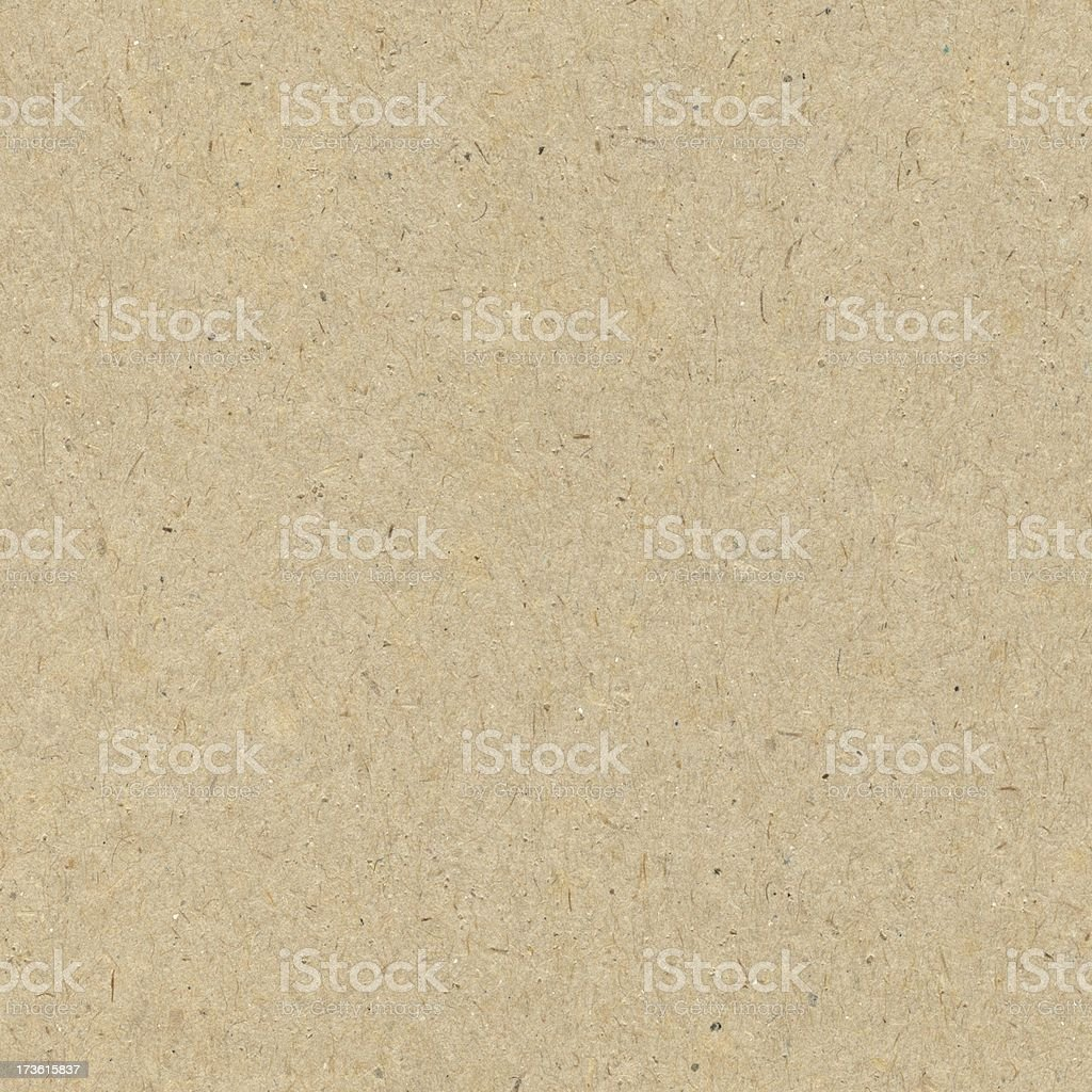 Close-up of a seamless brown recycled paper background stock photo