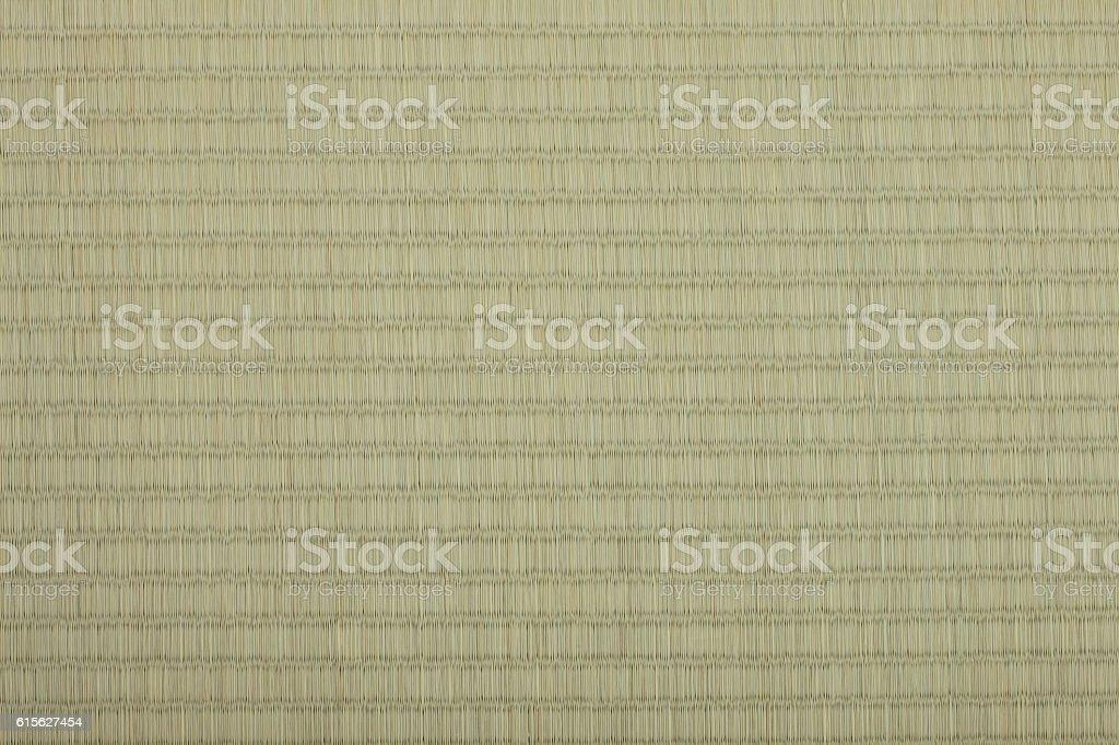 Close-up of a tatami mat stock photo