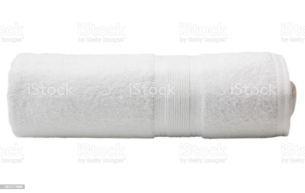 Close-up of a towel stock photo