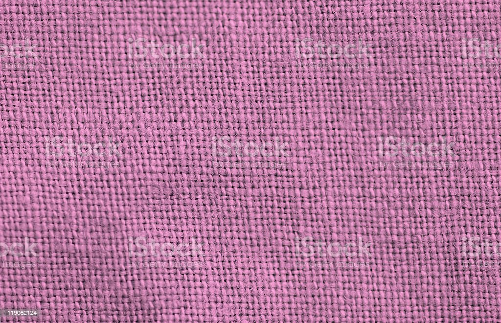 Close-up of a woven fabric royalty-free stock photo