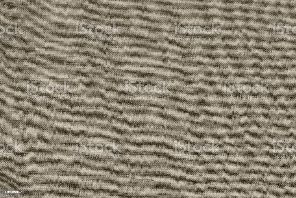 Close-up of a woven fabric - pure linen royalty-free stock photo