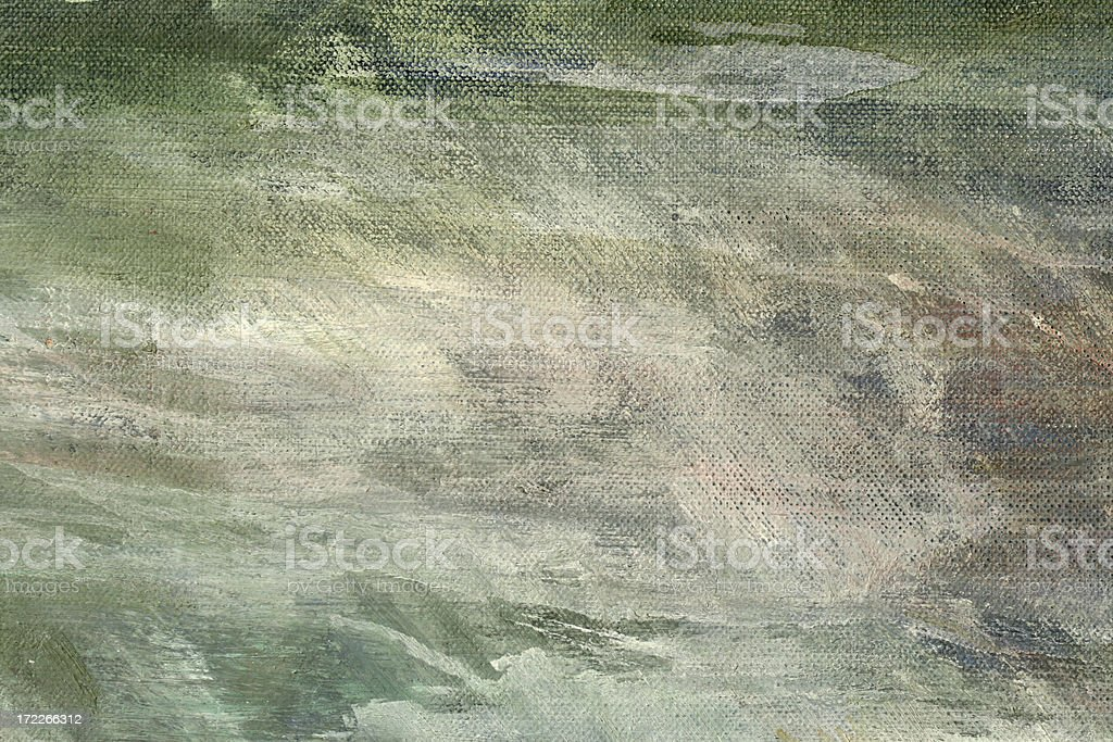 Close-up of abstract oil painting - texture royalty-free stock photo