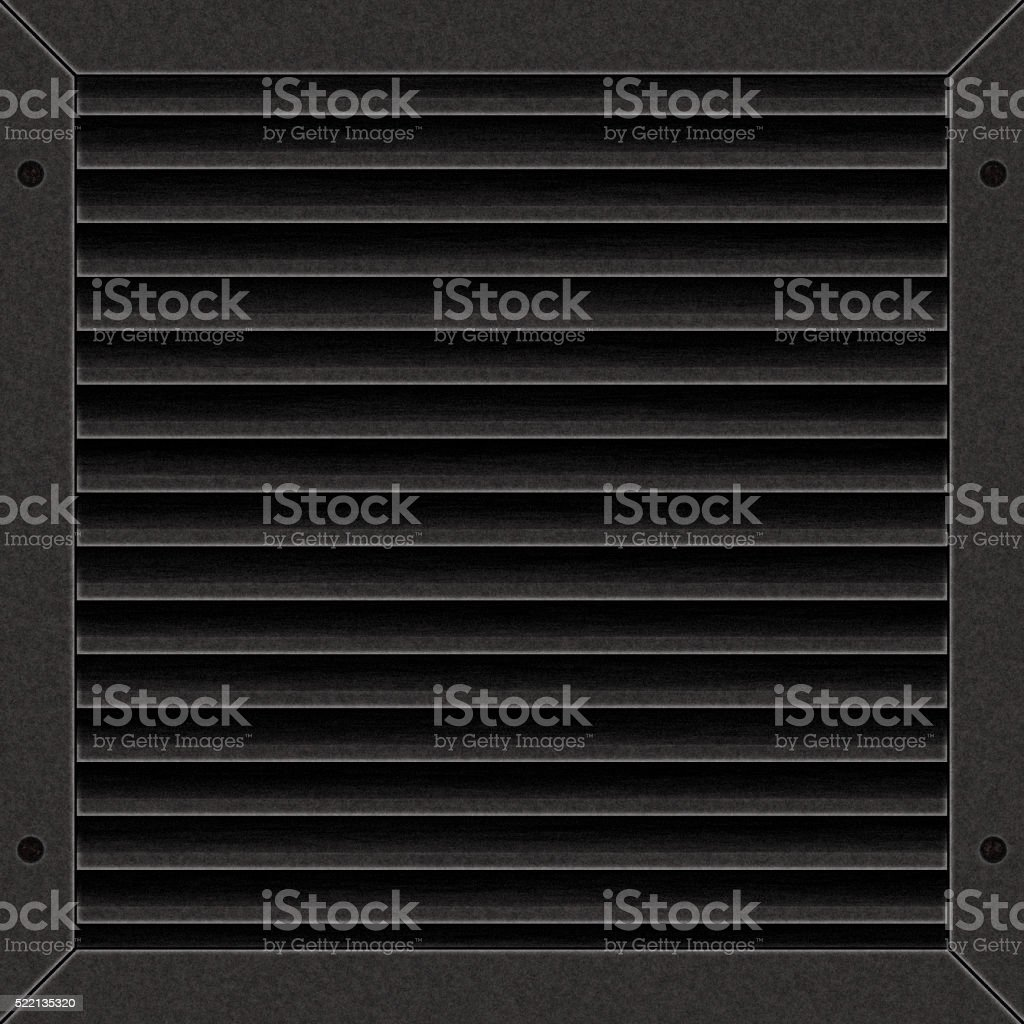 Close-Up Of Air Duct stock photo