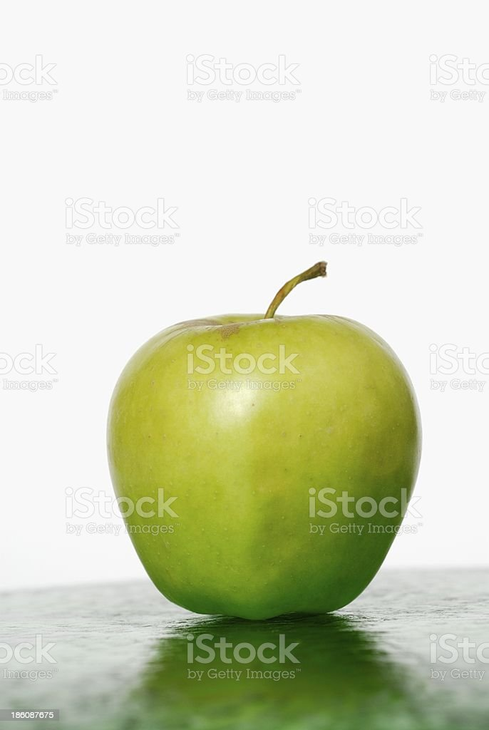 Close-up of an apple royalty-free stock photo