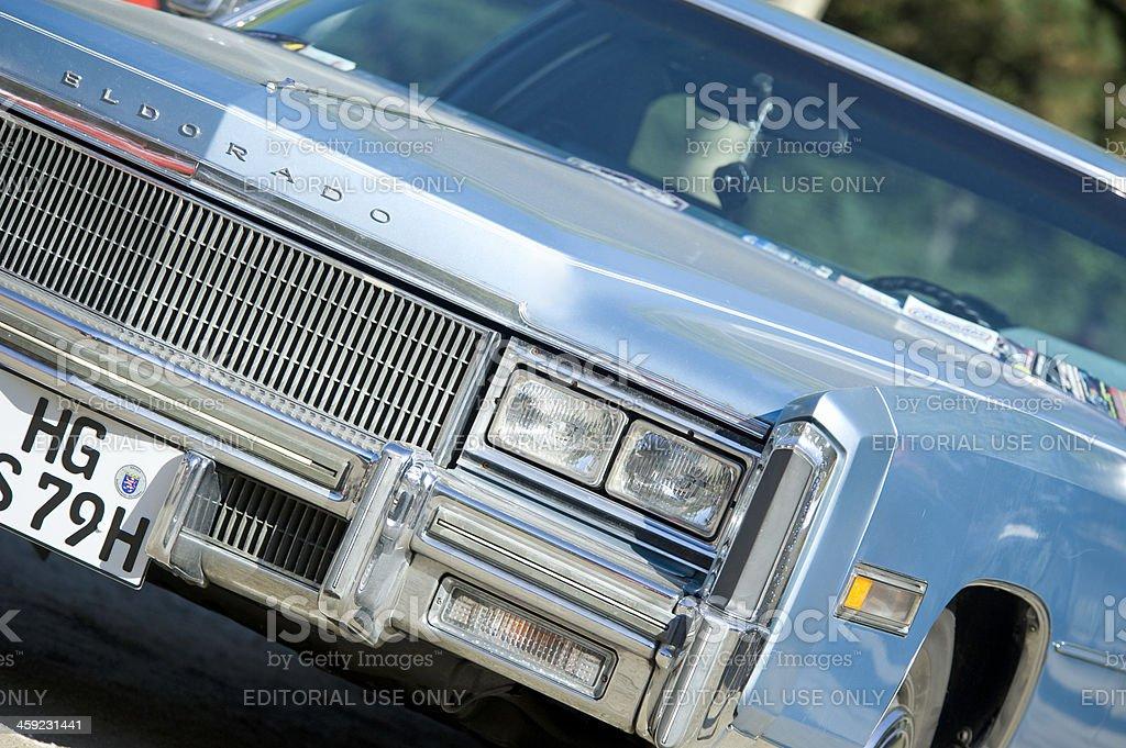 Close-up of an Cadillac Eldorado stock photo