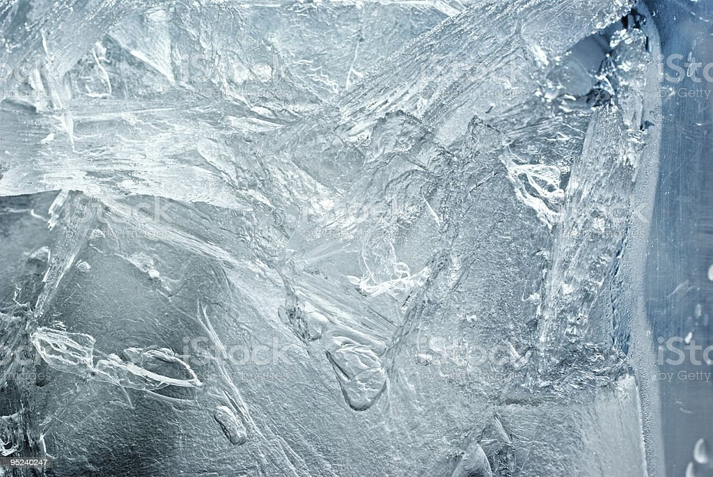 Close-up of an ice-textured background royalty-free stock photo