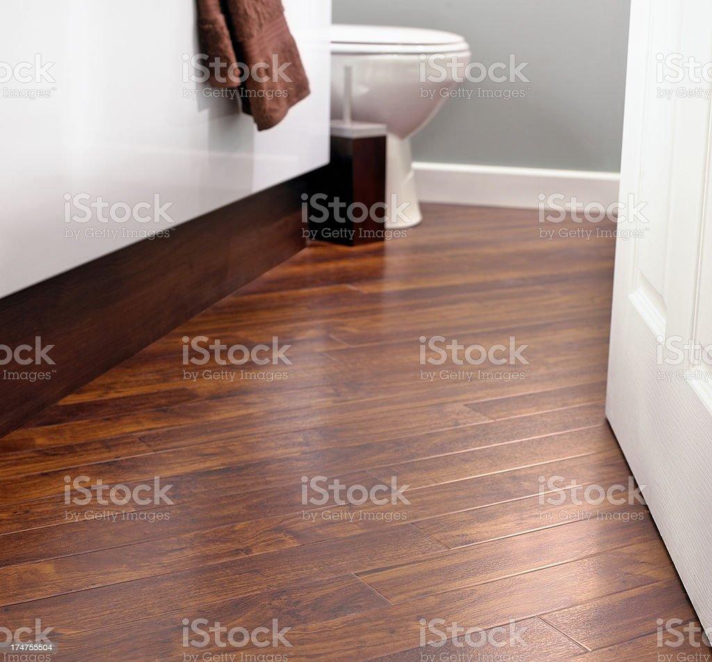 Closeup of bathroom tiles royalty-free stock photo