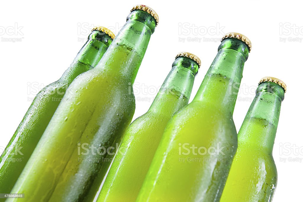 Closeup of beer royalty-free stock photo