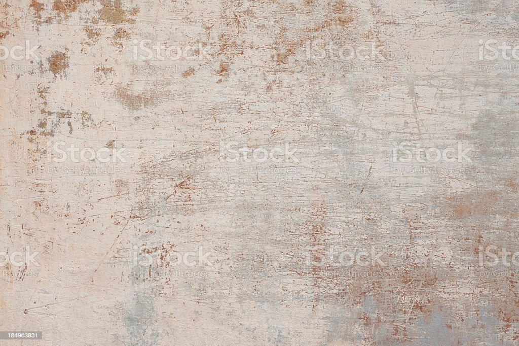 Close-up of beige grunge Roman wall texture stock photo