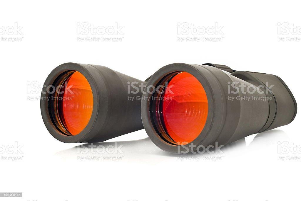 Close-up of binoculars royalty-free stock photo