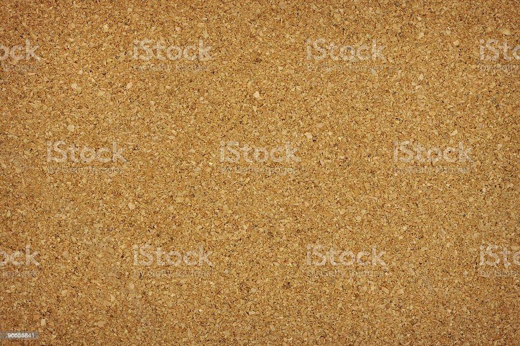 Closeup of blank cork board background royalty-free stock photo