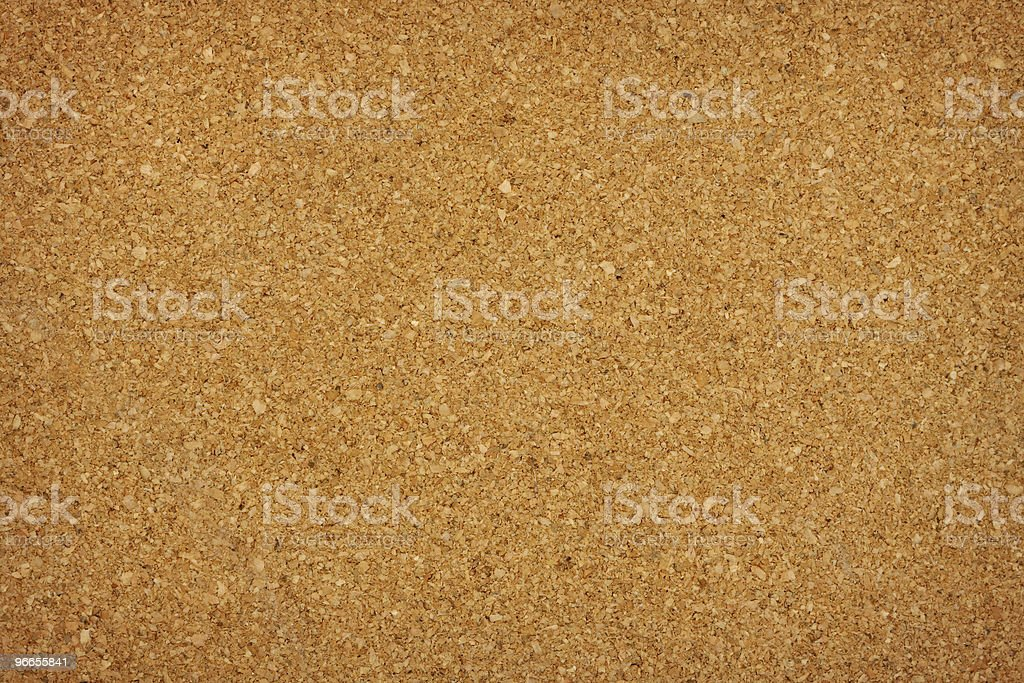 Closeup of blank cork board background stock photo