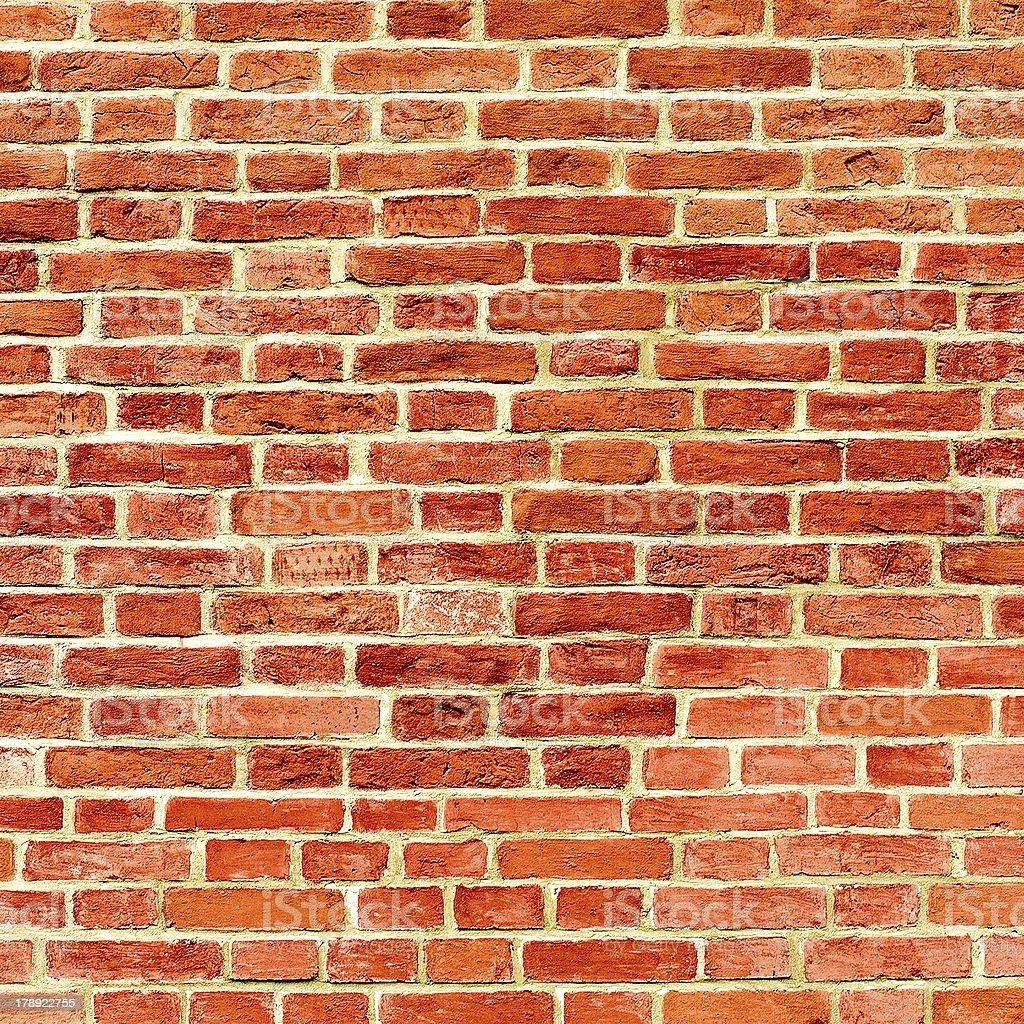 closeup of brick wall royalty-free stock photo